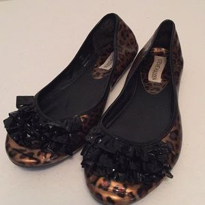 Steve madden leopard print flats shoes